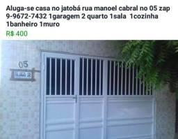 Casa no jatobá em Patos  400,00 reais