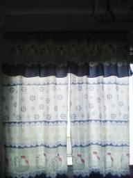 Vendo cortina de cozinha usada uma vez