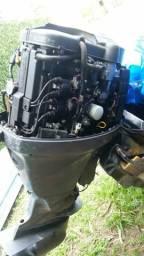 Motor de popa 90hp yamaha ano 2012 funcionando