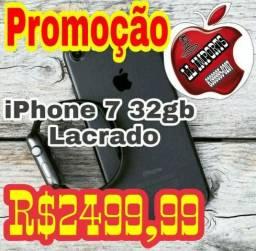 IPhone 7 32gb Lacrado, Parcelamos no cartão e aceitamos usado