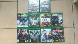 Vendo jogos Xbox one