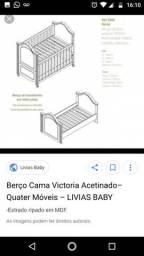 Berço linha Victória bebê comprar usado  Campos Dos Goytacazes