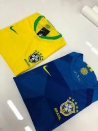 Conjunto do Brasil oficial 2018 ( 1 linha)