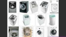 Consertos de maquinas de lavar roupa e lava e seca