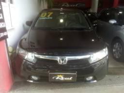 Honda Civic LXS 1.8,automático, 2007, Muito novo, aceito troca e financio - 2007