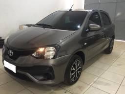 Etios 2019 Hatch X 1.3 6mil KM Automático Cheirando a Novo - 2019