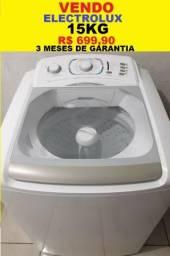 Máquina de Lavar 15kg Electrolux Turbo Capacidade 127v