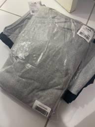 Kits de camisetas masculinas, com 5 camisetas GG