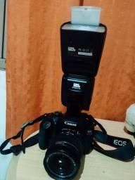 Vendo Câmera Profissional Canon T6 Completamente Nova!