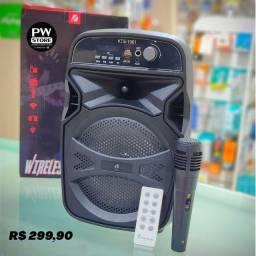Caixa de som amplificada - Loja PW STORE