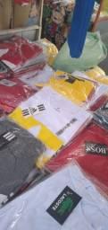 Camisas no preço de promoção