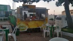 Vendo trailer comercial,  equipado para vender comidas e lanches