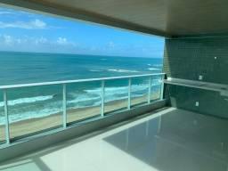 Apartamento a beira-mar de guaxuma pé na areia