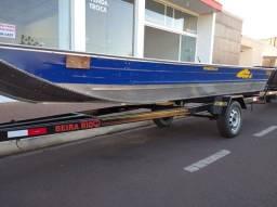 Barco Tucunaré Royal 600 + Carreta rodoviária