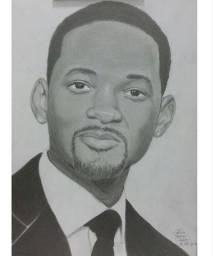 Desenho por Encomenda - Retrato, Quadro, Desenho em Parede