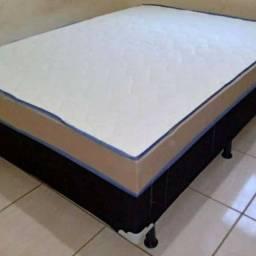 cama box 7 cm de espuma