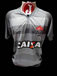 Camisa Vitória BA Topper Caixa Goleiro Cinza 2017