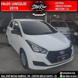 Título do anúncio: Hyundai HB20 Unique 2019 Branco- Único Dono