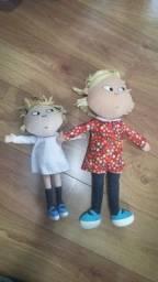 Bonecas de tecido Lindas da Lola