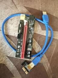 Kit 3x Pcie X1 Riser Ver009s