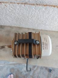 Compressor de ar eletromag aquário sun sun aco 003 50l/m