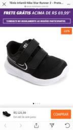 Tênis Nike runner bebê