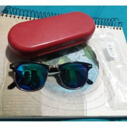 Óculos de sol unissex para grau ou estética