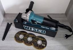 Título do anúncio: Esmerilhadeira Angular 115mm 750 W de Potência + 3 Disco de Brindes.