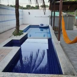 Casa com piscina, eventos, chácara,