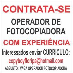 Operador de Fotocopiadora