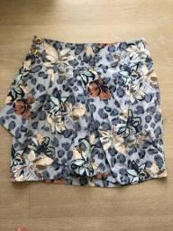 Título do anúncio: Mini saia envelope florida Zimpy