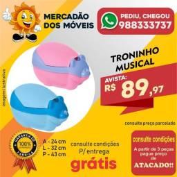 Título do anúncio: Troninho Musical - Entrega Grátis