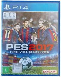 Oferta!! Game Pro Evolution Soccer 2017 Konami - PES2017 PS4