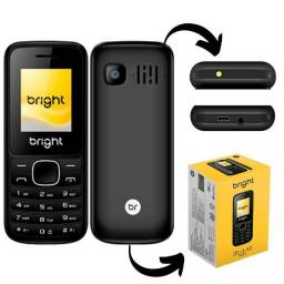 Título do anúncio: Telefone Celular Basico Para Idoso Bright Dois Chips Bluetooth