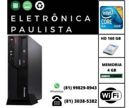 Cpu Lenovo Core 2 Duo 4gb Ram Hd 160gb + wifi