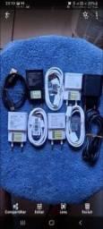 vendo carregador turbo Samsung e Motorola todos originais