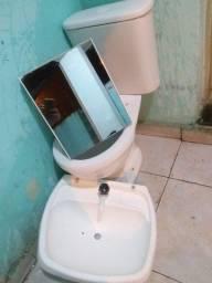 Vaso pia espelho p banheiro