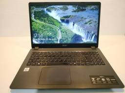 Notebook acer core i3-1005g1 8gb 512gb ssd tela 15.6 windows 10 aspire 3 a315-56-35et