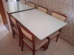 Título do anúncio: Mesa quatro lugares pintura laka e madeira