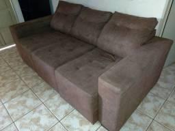 Sofa Retratil Marrom (Votuporanga)