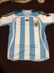 Camisa argentina Copa do mundo 2006
