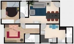 Apartamento à venda, 2 quartos, 1 suíte, 2 vagas, Barroca - Belo Horizonte/MG