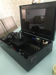Playstation 2 PS2 portátil acompanha HD 500GB