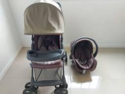 Carrinho de Passeio Galzerano c/Bebê Conforto