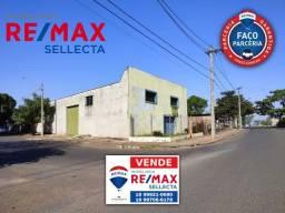 Título do anúncio: Galpão comercial em fase de acabamento - Esquina - Frente para a rodovia Marechal Rondon