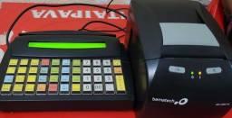 Máquina para tirar pedidos E da a conta
