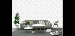 Papel adesivo de parede lavável