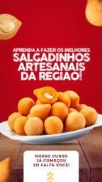 CURSO SALGADINHO ARTESANAIS