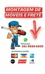 MONTADOR DE MÓVEIS E PEQUENOS FRETES
