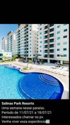 Alugo 7 dias em julho apartamento salinas park resort  localizado em Salinópolis